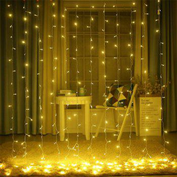 3M x 3M 8-modes 304pcs-Lights String Warm White Decorative Light -  WARM WHITE LIGHT