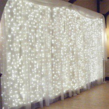 3M*3M 8-modes 304pcs-Lights Light String  White Lights Decorative Lights - WHITE LIGHT