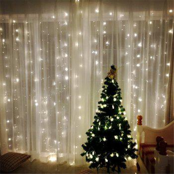 3M*3M 8-modes 304pcs-Lights Light String  White Lights Decorative Lights - WHITE LIGHT WHITE LIGHT
