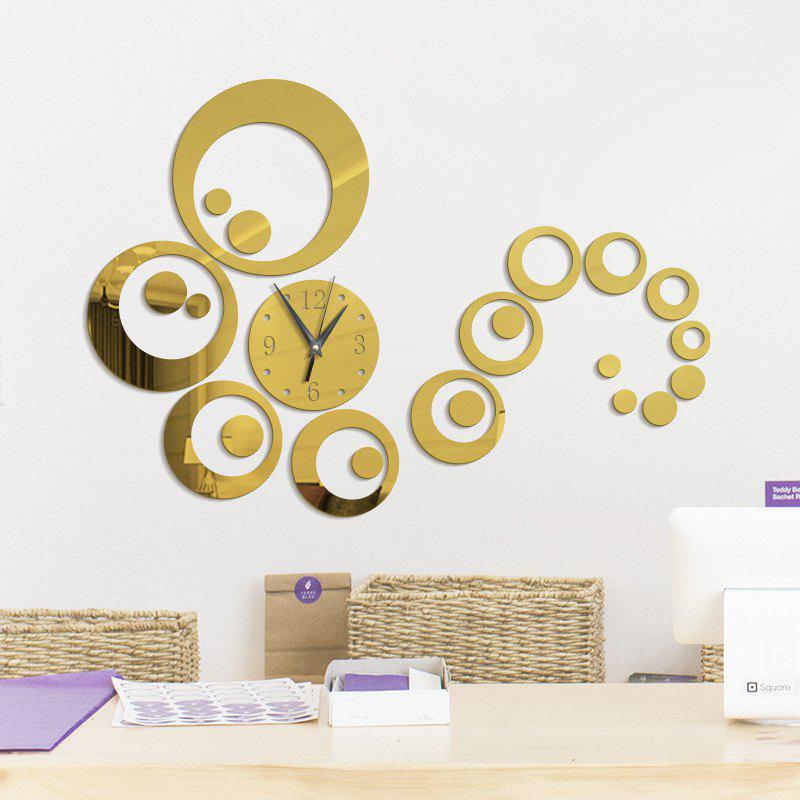 Luxury Gold Circle Wall Decor Pattern - Wall Art Collections ...