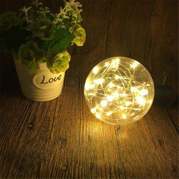 YWXLight E27 LED Bulb String Light Filament Lamp for Christmas Lighting AC 85 - 265V -  WARM WHITE LIGHT