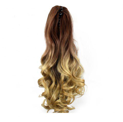 TODO 20 inch Ombre Claw Synthetic Clip-in Hair Extensions - OMBRE 4/8/30 20INCH