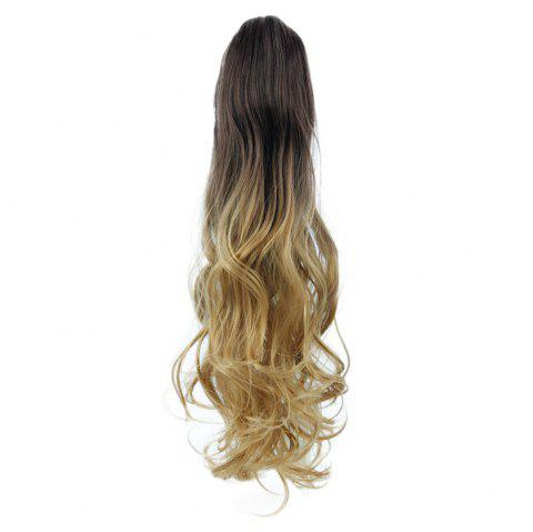 TODO 20 inch Ombre Claw Synthetic Clip-in Hair Extensions - OMBRE 613H2513BHBLUE2 20INCH
