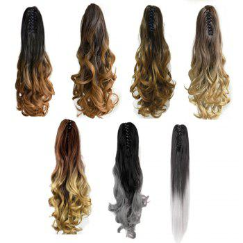 TODO 20 inch Ombre Claw Synthetic Clip-in Hair Extensions - OMBRE H AHPINK 20INCH