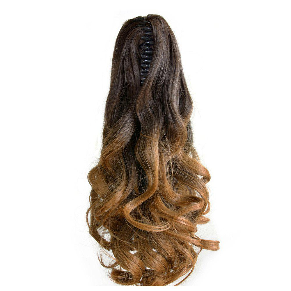 TODO 20 inch Ombre Claw Synthetic Clip-in Hair Extensions - OMBRE PT / 20INCH