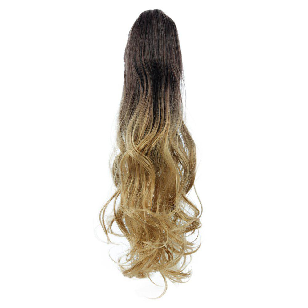 2018 Todo 20 Inch Ombre Claw Synthetic Clip In Hair Extensions Ombre