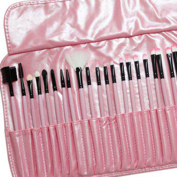 TODO 32pcs Professional Makeup Brushes with Carry Case - PINK