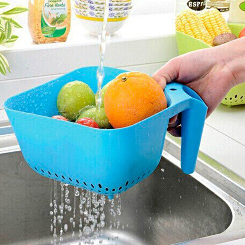 1PC Macroart Drain Basket for Fruits Vegetables - COLORMIX