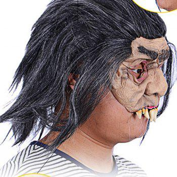 MCYH Masquerade Spoof Halloween Mask Props Costumes - COLORMIX