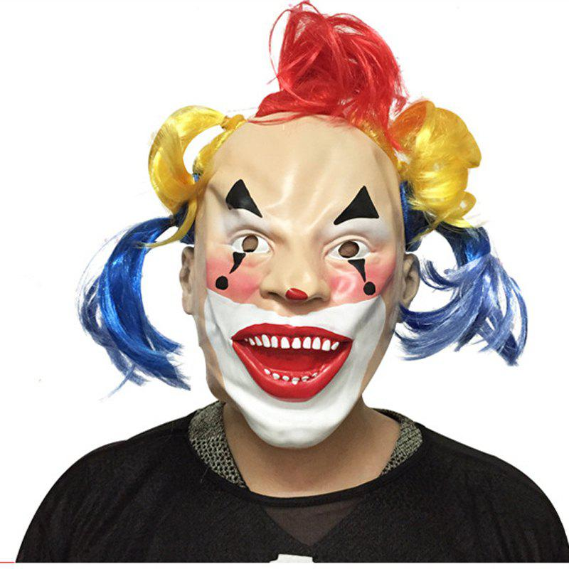 MCYH 545 Halloween Fun Moving Mask Costume Party Supplies - COLORMIX