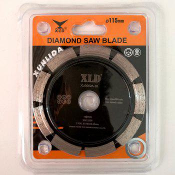 XLD 115mm Diamond Cold-pressed Segmented Saw Blade Dry Cutting -  BLACK