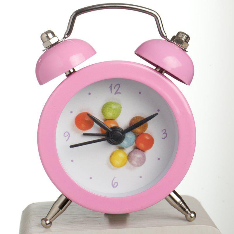 May Time Rainbow Candy Cute Table Alarm Clock For Kids